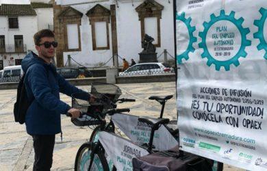 Un año más campaña difusión plan empleo de Extremadura